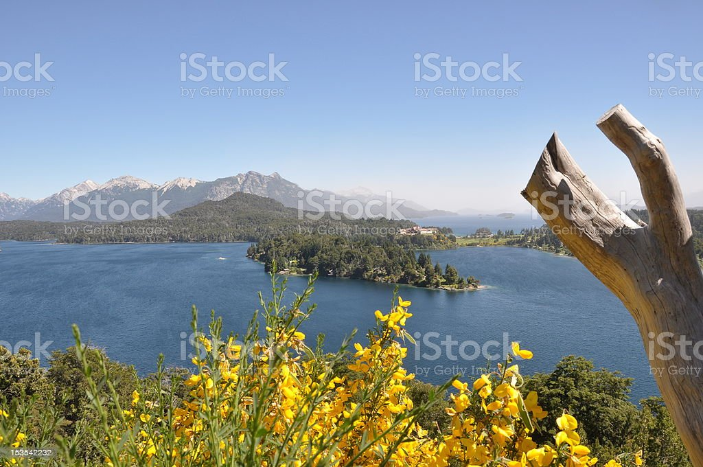 Lagos en Patagonia royalty-free stock photo