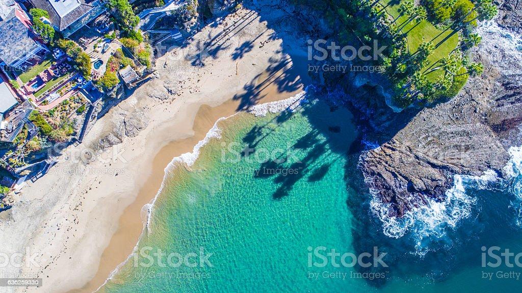 Laguna Beach, Orange County (Southern California) stock photo