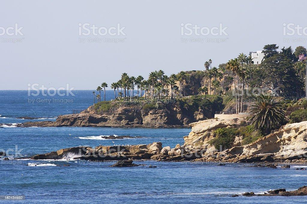 Laguna Beach scenic royalty-free stock photo