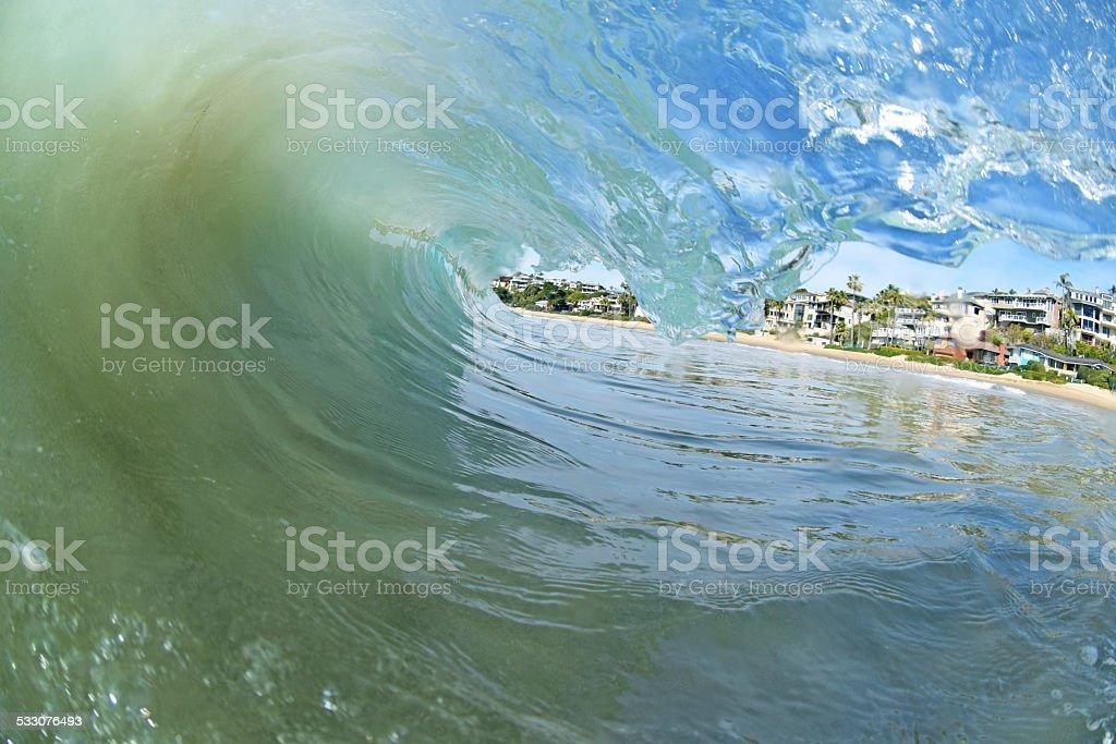 Laguna Beach Surf stock photo
