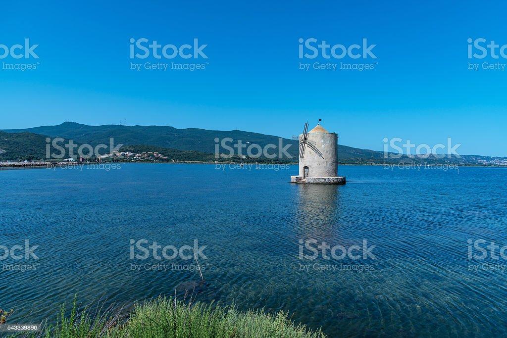 laguna blu stock photo