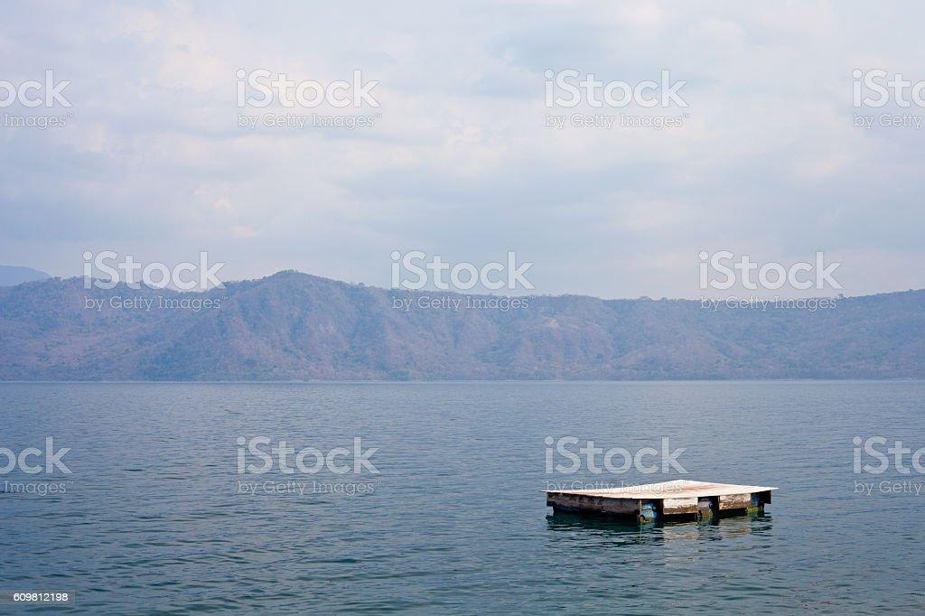 Laguna de Apoyo stock photo