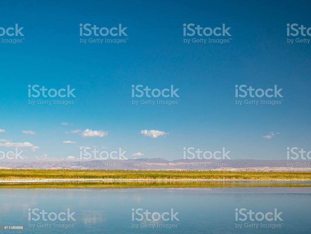 Laguna de Ceias royalty-free stock photo
