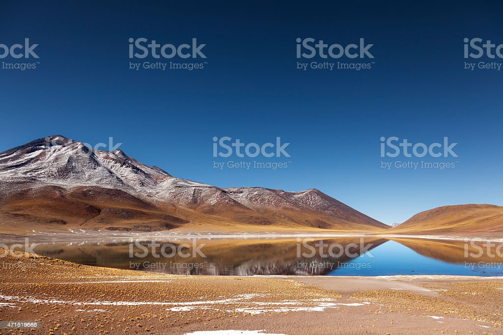 Laguna Mi?iques stock photo