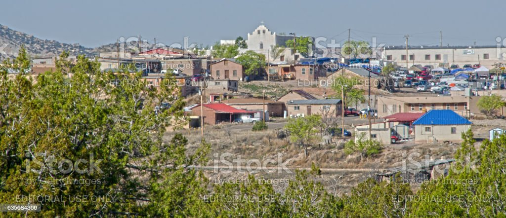 Laguna Pueblo stock photo