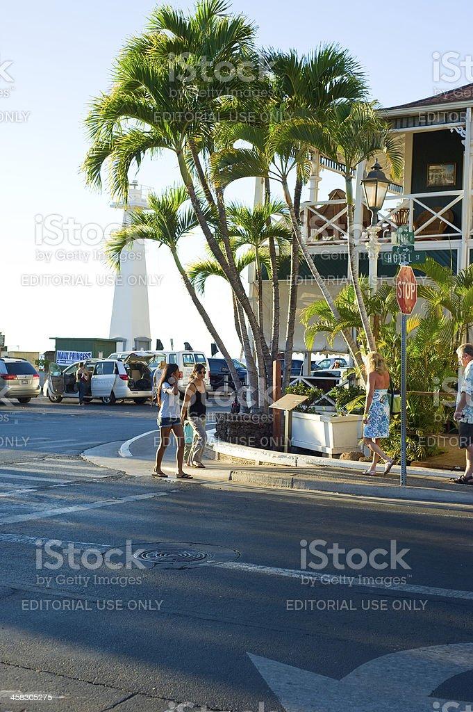 Lahaina, Hawaii royalty-free stock photo