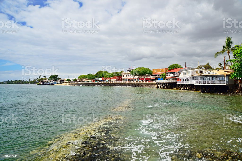 Lahaina stock photo