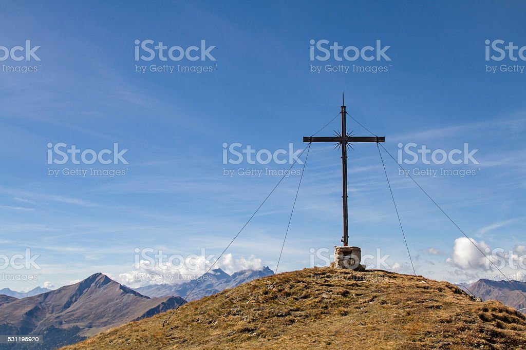 Lahnkopf summit stock photo
