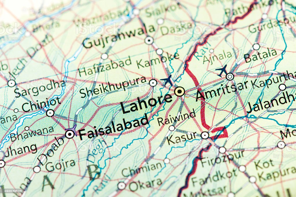 Lahore Pakistan stock photo
