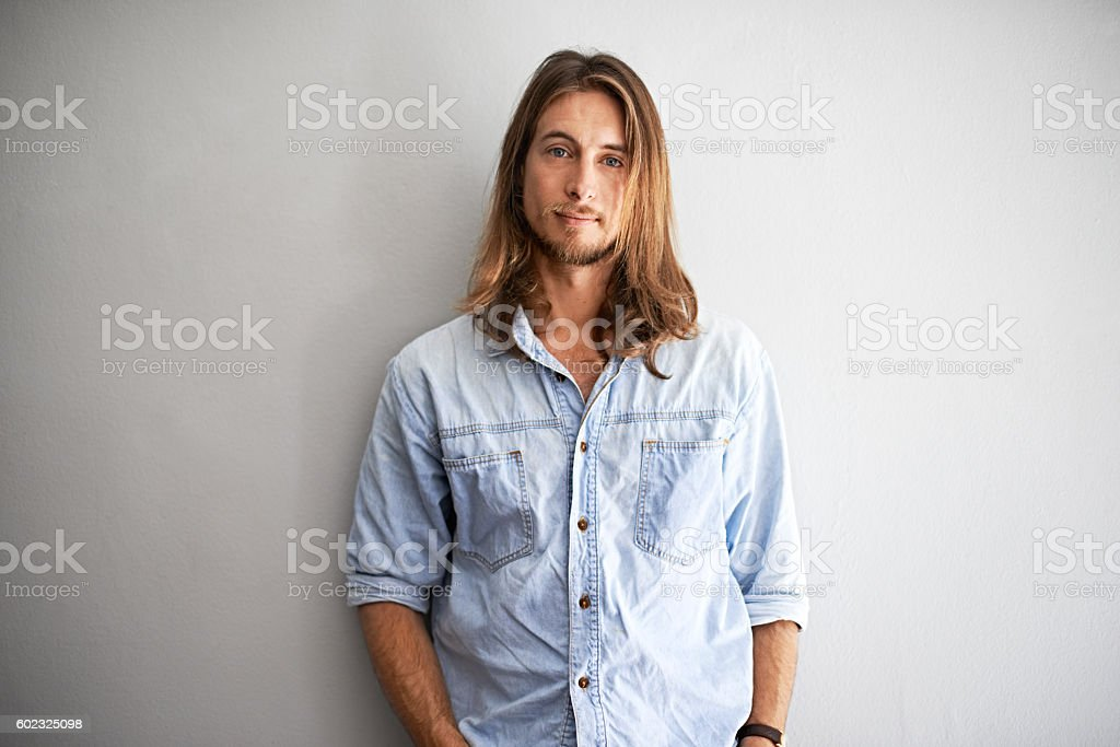 Laid back and cool stock photo