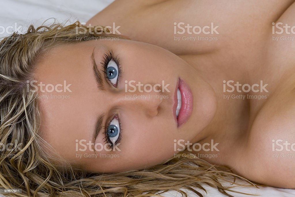 Laid Back Beauty Too royalty-free stock photo