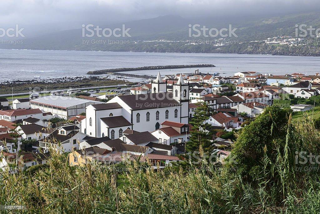 Lajes do Pico, Azores archipelago (Portugal) stock photo