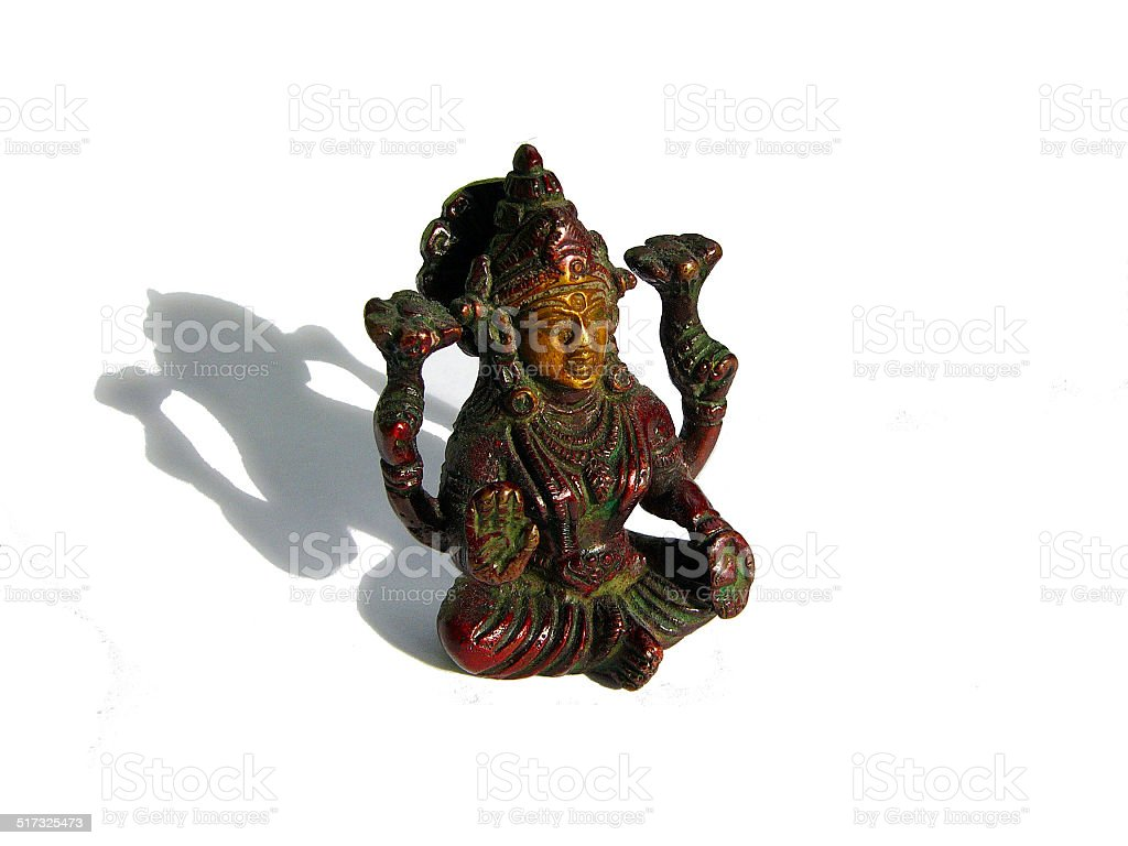 Lakashmi Hindu Goddess stock photo
