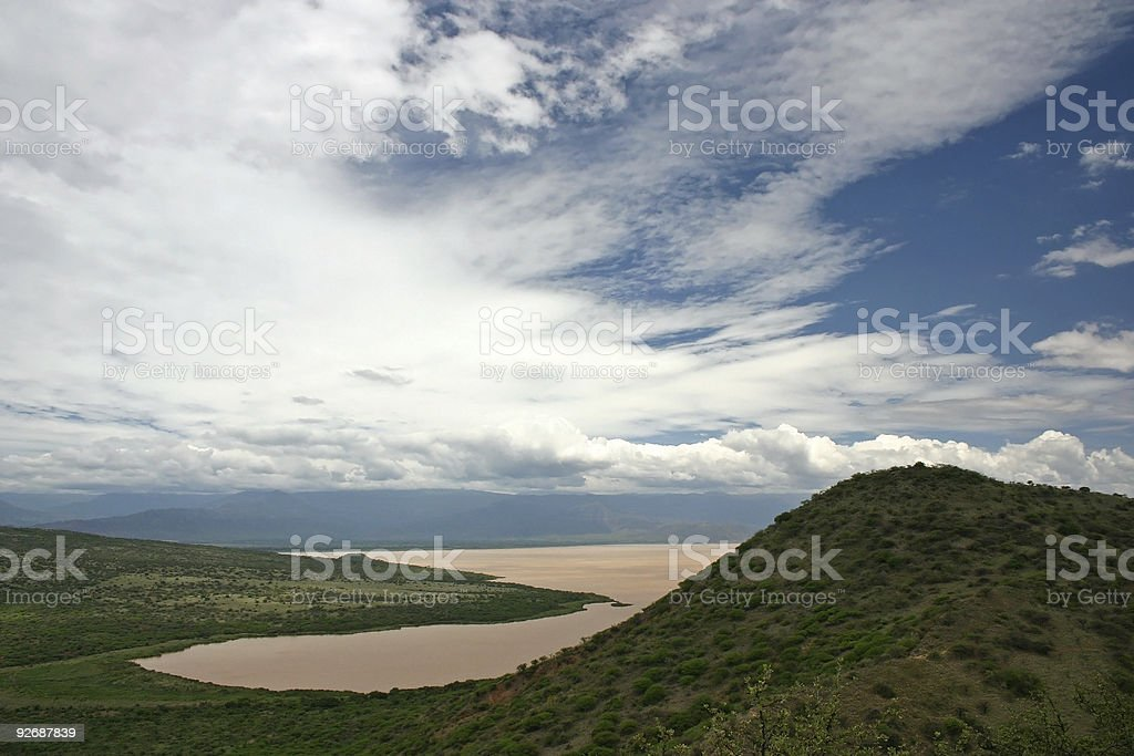 Lake Abaya stock photo