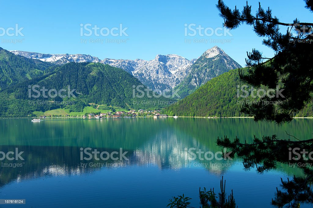 Lake Achensee, Austria stock photo