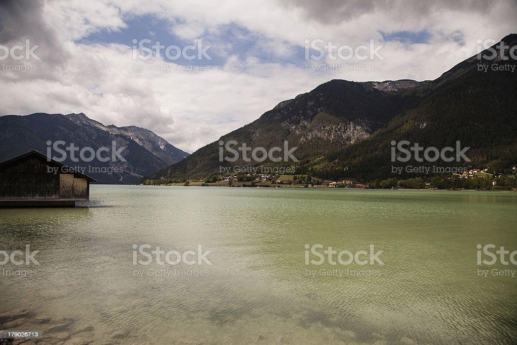 Lake Achensee royalty-free stock photo