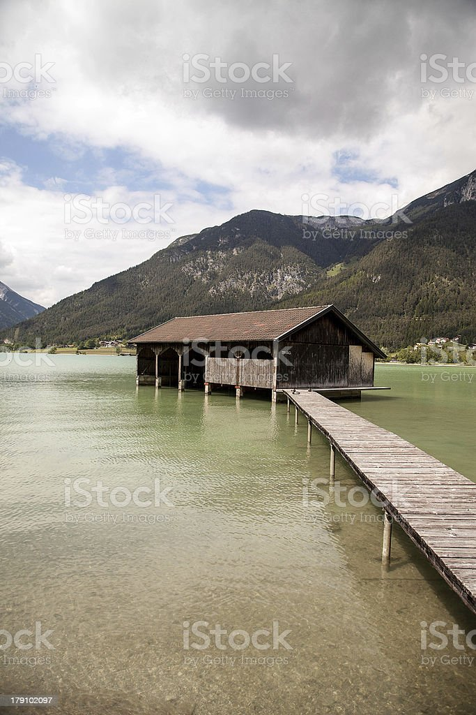 Lake Achensee royalty-free stock photo