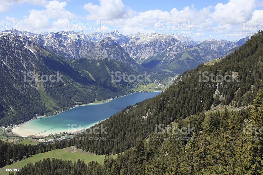 Lake Achensee stock photo