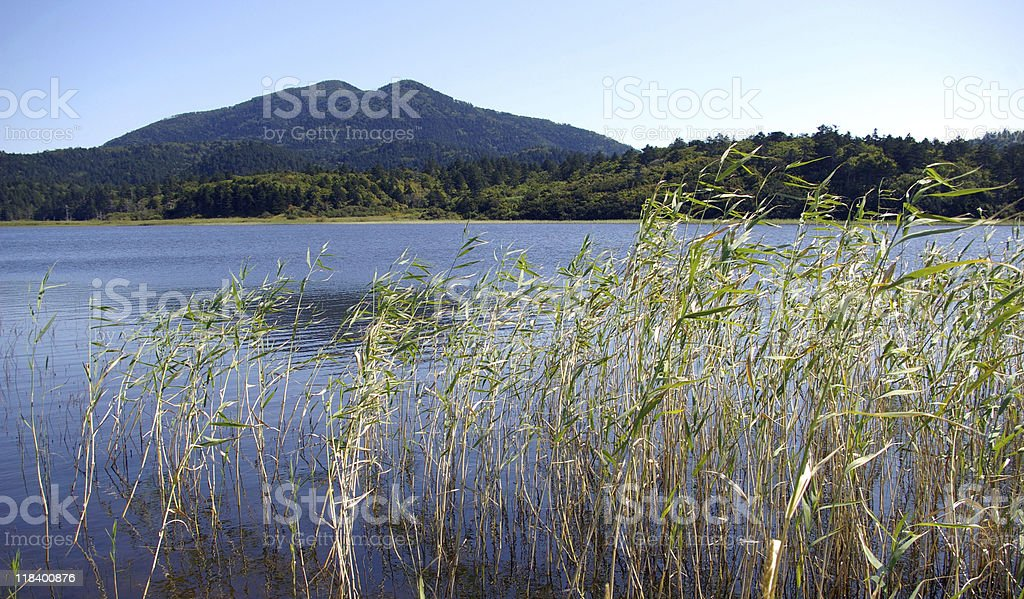 Lake Aliger royalty-free stock photo