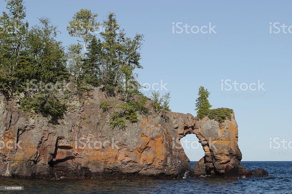 Lake Arch stock photo