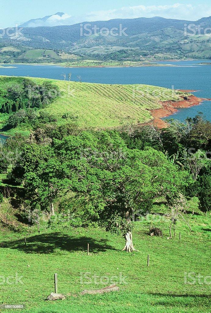 Lake Arenal-Costa Rica stock photo