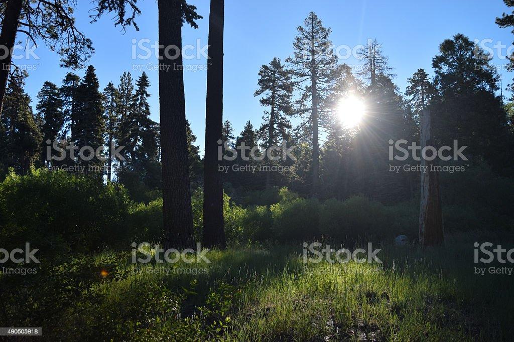 Lago Arrowhead foto stock royalty-free