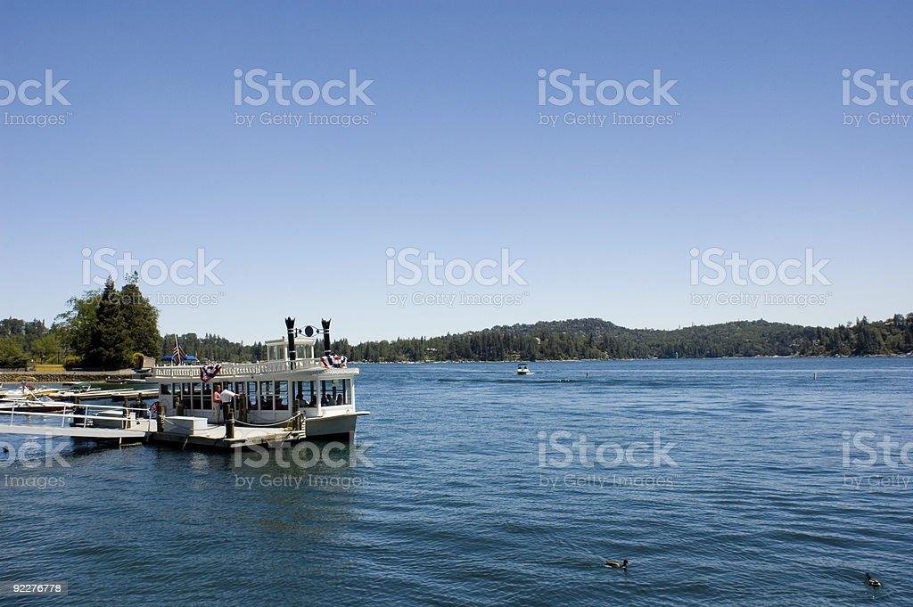 Lake Arrowhead Scenic,  California royalty-free stock photo