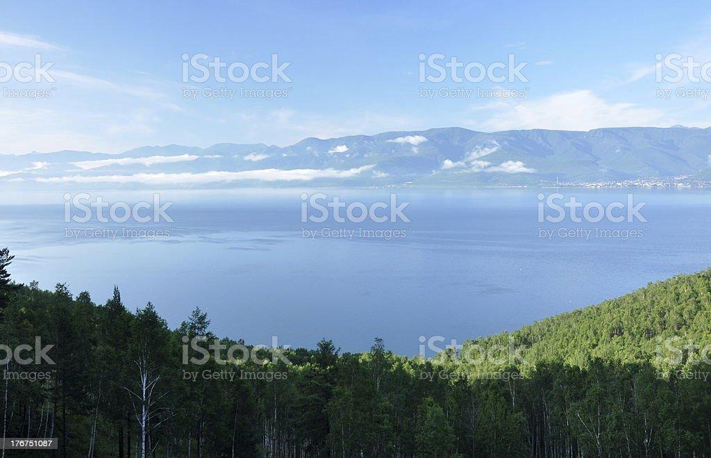 Lake Baikal, Siberia stock photo