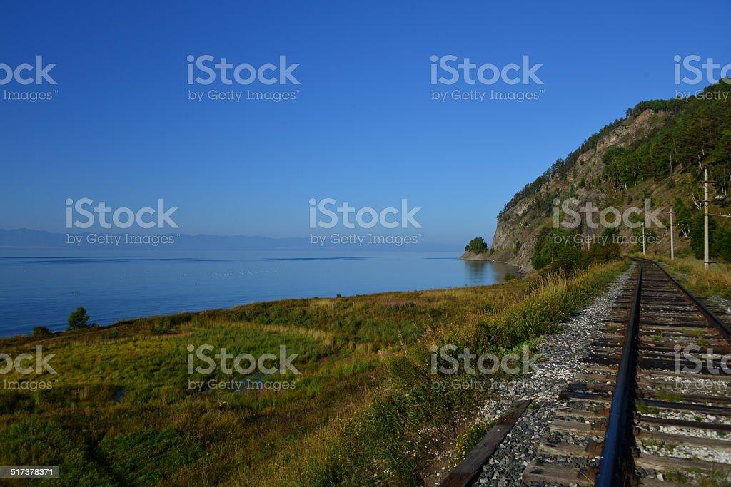 Lake Baikal Siberia stock photo