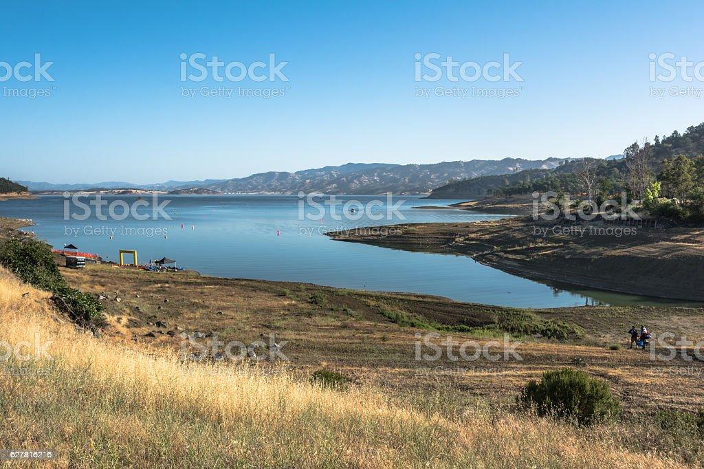 Lake Berryessa, California stock photo