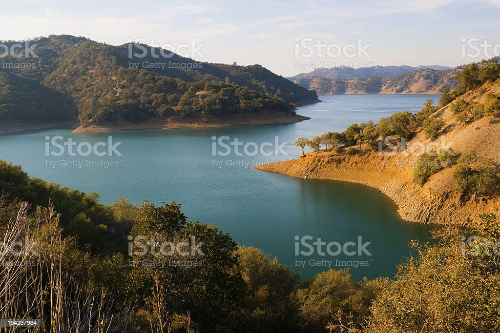 Lake Berryessa stock photo