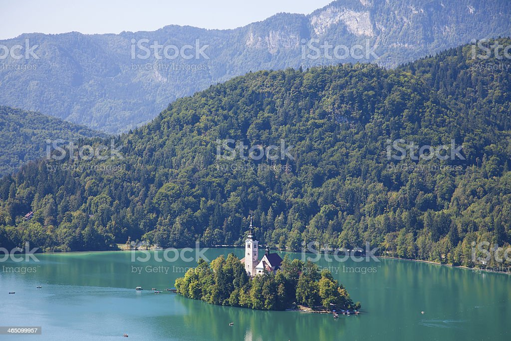 lake bled royalty-free stock photo