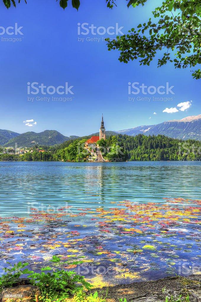 Lake Bled stock photo