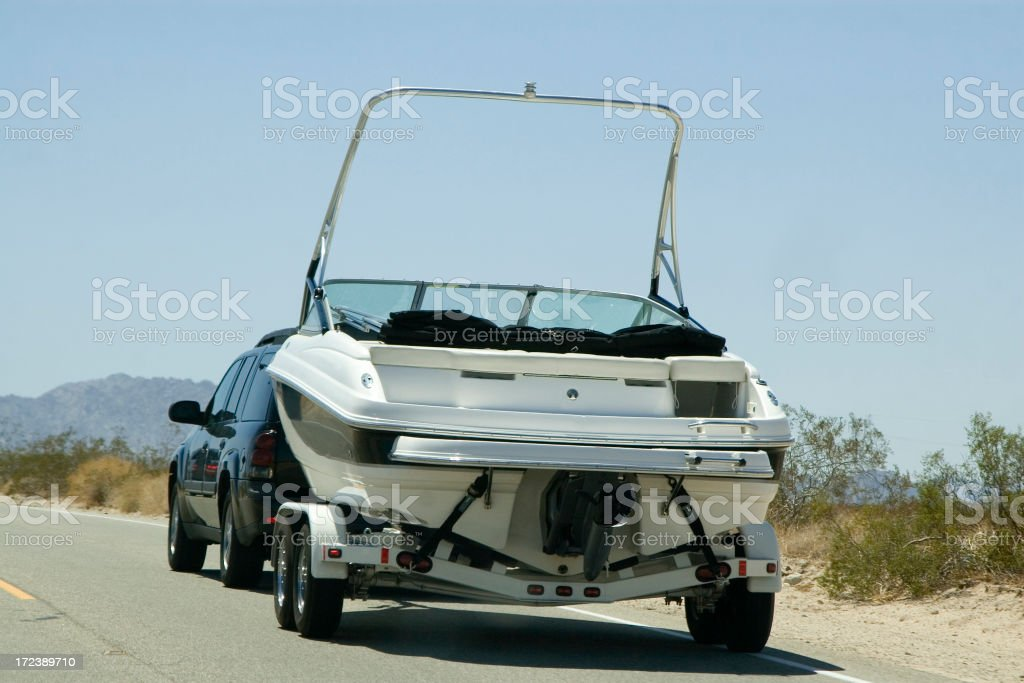 lake boat stock photo