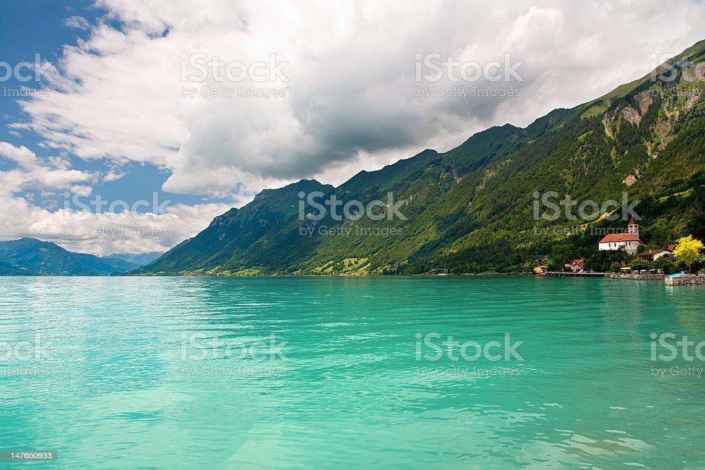 Lake Brienz, Berne Canton, Switzerland royalty-free stock photo