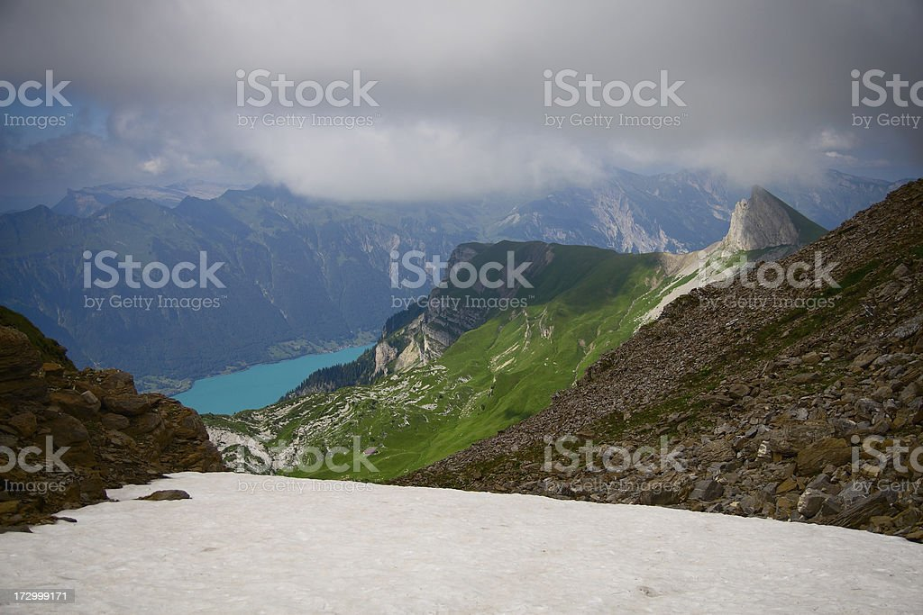 Lake Brienz stock photo