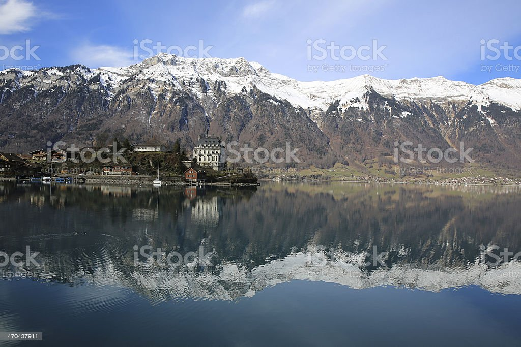 Lake Brienz royalty-free stock photo