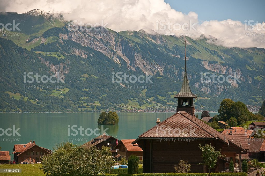 Brienzersee royalty-free stock photo