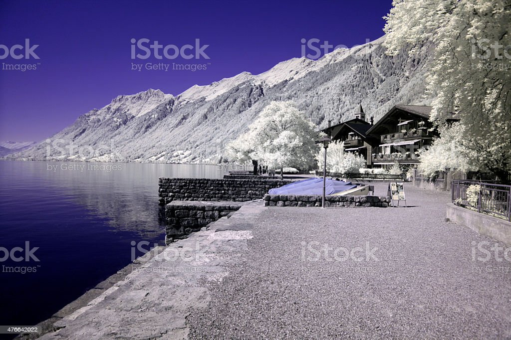 Lake Brienz stock photo