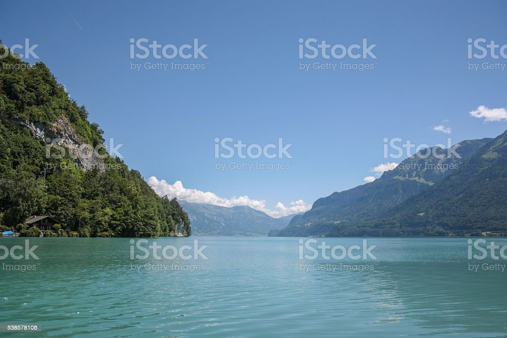 Brienzersee stock photo