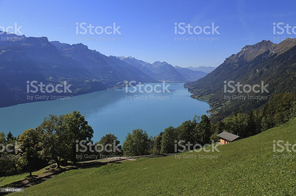 Lake Brienzersee stock photo