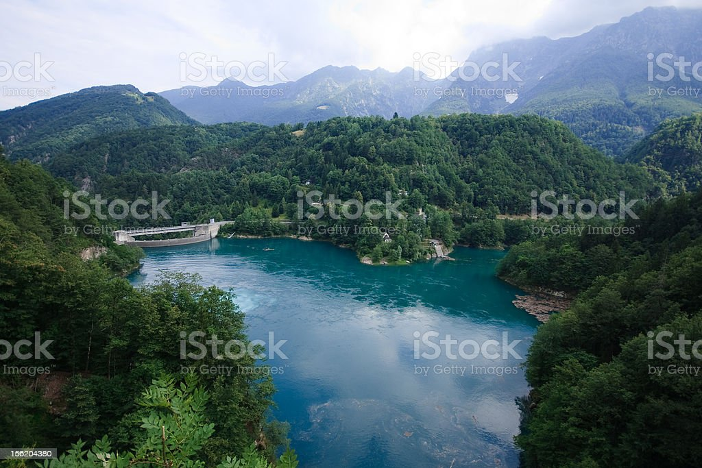 lake by Centovalli stock photo