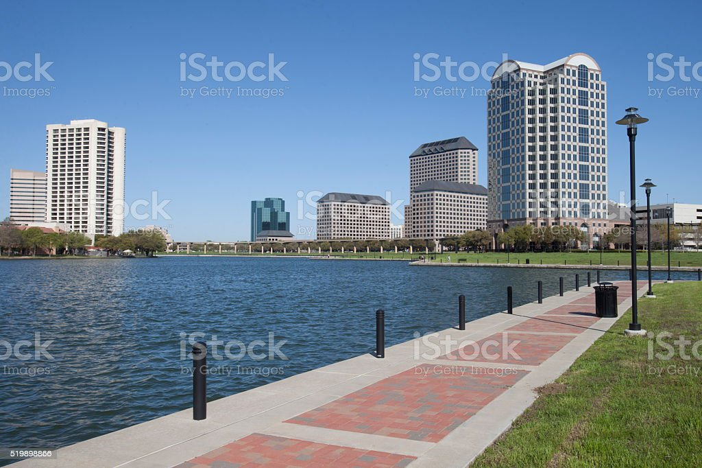 Lake Carolyn stock photo