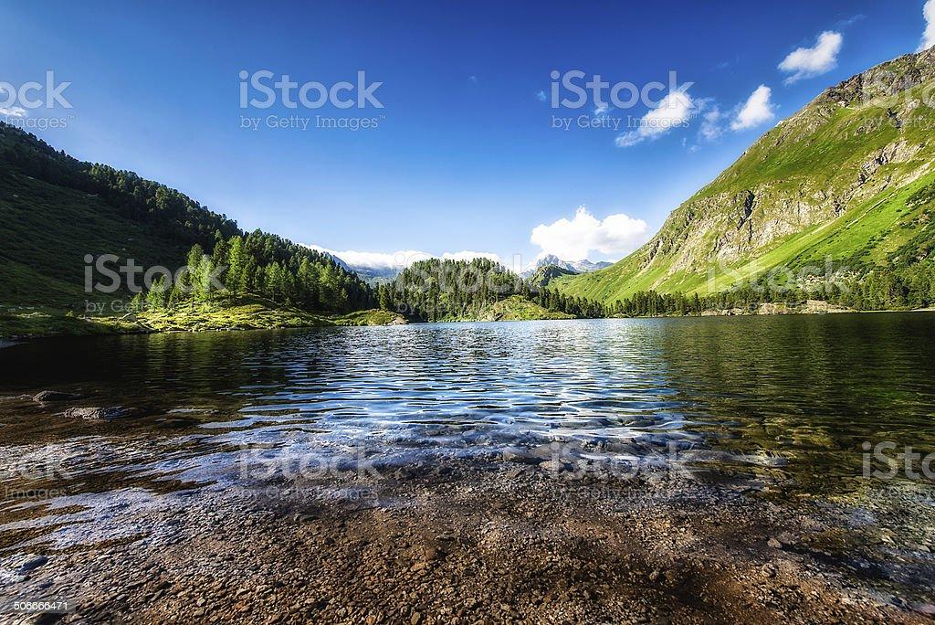 Lake Cavloc stock photo