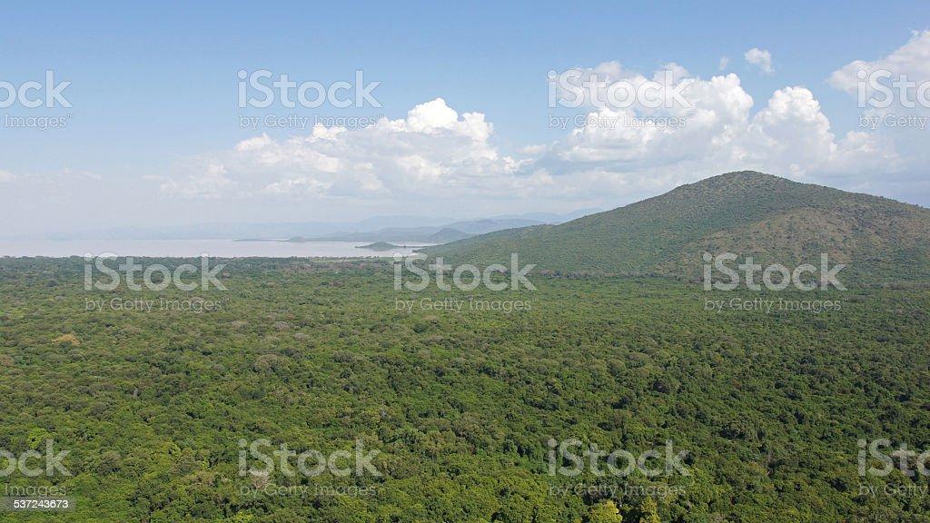 Lake Chamo, Ethiopia, Africa stock photo