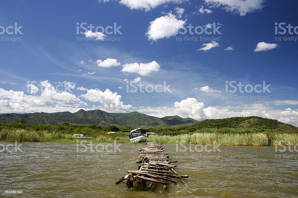 Lake Chamo stock photo
