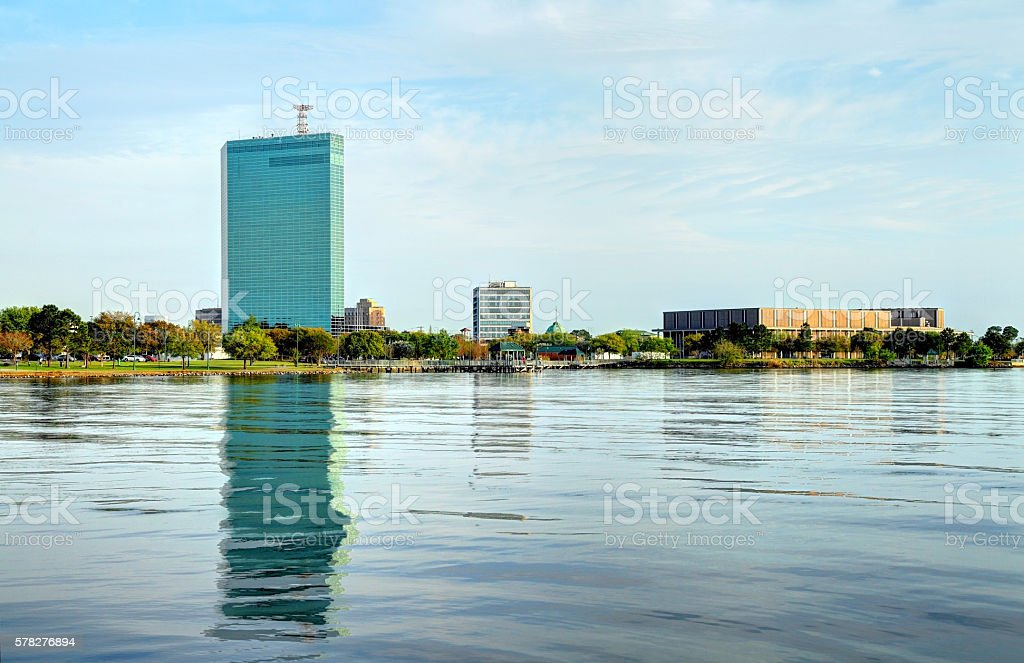 Lake Charles, Louisiana stock photo