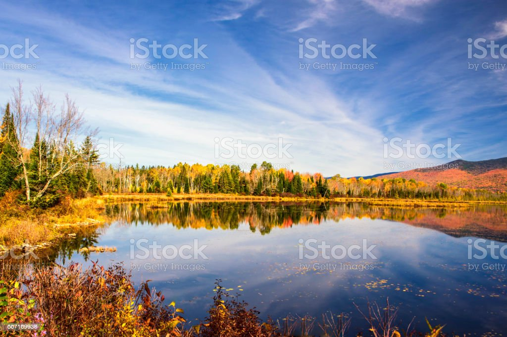 Lake Cherry stock photo
