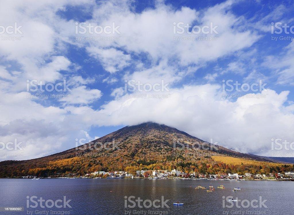 Lake Chuzenji, Japan stock photo