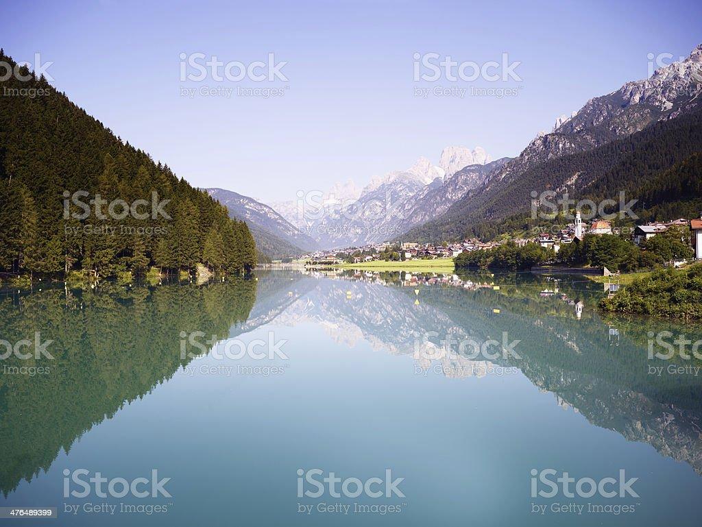 Lake. Color Image royalty-free stock photo